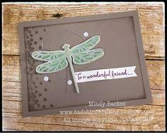 Bada-Bing! Paper-Crafting!: Display Samples - Dragonflies