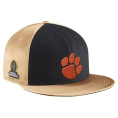 Must have product now available: Clemson Tigers Ni... Get it here! http://www.757sc.com/products/copy-of-clemson-tigers-nike-college-football-playoff-2016-national-champions-locker-room-coaches-classic-99-adjustable-snapback-hat-black-vegas-gold?utm_campaign=social_autopilot&utm_source=pin&utm_medium=pin