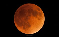--- Bloody Moon --- by Alexandre Croisier / 500px