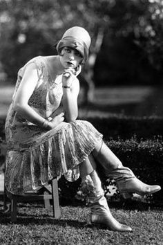 #styleicon #modcloth I love her outfit here. So classic flapper. Images like this inspired my deep love for cloches!