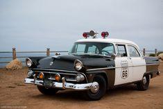 1955 Ford Customline Police Car
