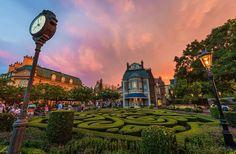 The France Pavilion in Epcot's World Showcase at Walt Disney World