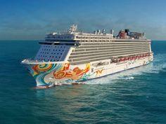 6 Cruises to Book Right Now   Condé Nast Traveler Best Cruise, Cruise Tips, Cruise Travel, Cruise Vacation, Vacation Ideas, Norwegian Cruise Line, Norwegian Sky, Norwegian Breakaway, Family Cruise
