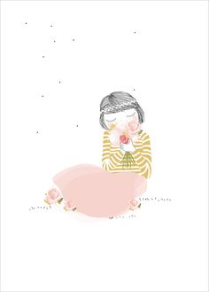 My Lovely Thing - JoliePoupée - Illustration en exclusivité pour L'Affiche Moderne