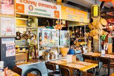 Thai Restaurant, Restaurant Design, Thai Street Food, Food Concept, Food Court, Leeds, Color Combos, Scenery, Nottingham