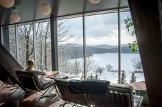 balnea-spa-blond-story-vue Bromont, Spa, Relaxer, Quebec, Great Places, Blond, Places To Visit, Beautiful, Quebec City