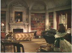 Tara Plantation Interior   Cinema Style: Tara and Twelve Oaks Revisited