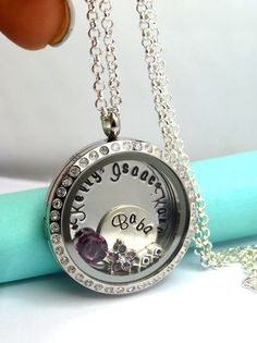 ILY Floating Locket Personalized with Kids Names for our Moms
