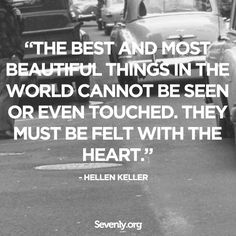 #InspirationalQuote from Hellen Keller