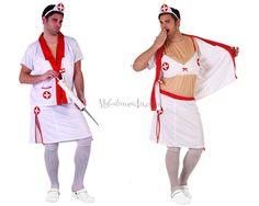 Transvestite Nurse Costume | Adult & Hen & Stag
