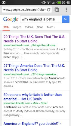 America Vs. Britain: Twitter Decides Who Is Better