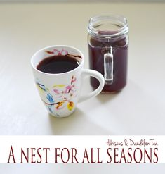 Dandelion tea! From those pesky dandelions in your yard.