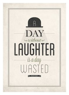 Charlie Chaplin quote poster