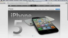 The video claims to show the iPhone 5 discovered by a mistake on one of Apple's international sites. It wasn't.