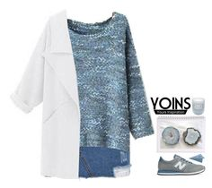 """""""Yoins 15"""" by emilypondng ❤ liked on Polyvore featuring New Balance, CB2, Fresh, Gucci, MustHave, fall2015 and yoins"""