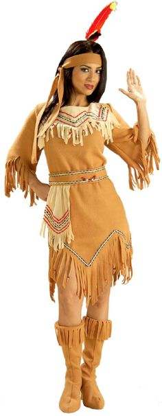 Adult Native American Maiden Costume