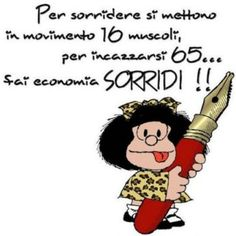 Mafalda and more… Smile Word, Child Smile, Tru Love, Thank You Friend, My Life Style, Good Mood, Vignettes, Einstein, Laughter