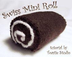 Toastie Studio Blog: Mini roll cake tutorial
