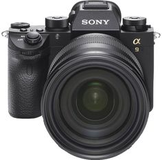 Sony α9 Full-Frame Mirrorless for Professionals: World's First1 Full-Frame Stacked CMOS Sensor, 24.2 MP Resolution, Continuous Shooting at up to 20fps, Silent & Vibration-Free Shooting, 693 Point Focal Plane Phase Detection AF Points https://www.photoxels.com/sony-%ce%b19/