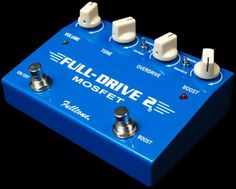 My new drive pedal! Full-Tone FullDrive 2 Mosfet