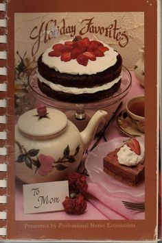 holiday favorites california home economics teachers community recipes spiral