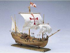 Amati Pinta Wooden Ship Model Image