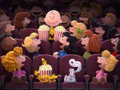 """Nuevo tráiler de """"La película de Peanuts"""" #Cine #Tráiler #Snoopy"""