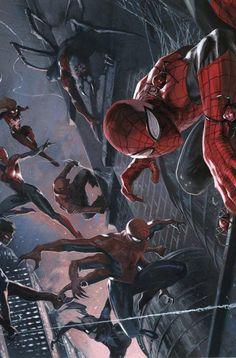 Grabielle Dell'Otto dibuja la portada de El Asombroso Spiderman 105 http://www.paninicomics.es/web/guest/titulo_detail?viewItem=761387