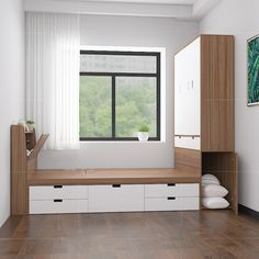 Small Room Design Bedroom, Small Bedroom Interior, Small Apartment Interior, Wardrobe Design Bedroom, Small Bedroom Designs, Bedroom Furniture Design, Home Room Design, Home Bedroom, Minimalist Room
