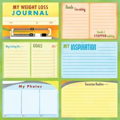 Image detail for -Home / Scrapbooking / New Products / My Weight Loss Journal
