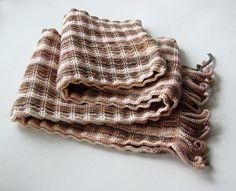 Delicadezas en crochet Gabriela: Bufanda de abrigo puntada fácil