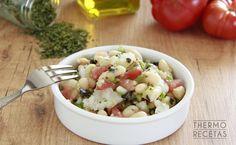 Fresco, Orzo Salat, Avocado Salat, Potato Salad, A Food, Salads, Healthy Eating, Ethnic Recipes, Fast Recipes