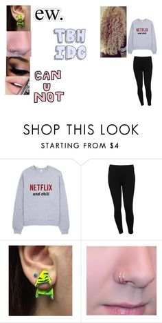 """""""Literally me rn"""" by paige-york0215 on Polyvore featuring beauty, M&Co and Fiebiger"""