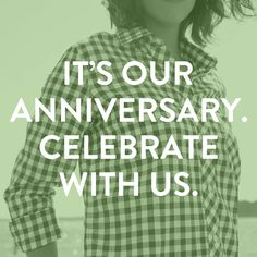 To celebrate our 1st Anniversary (woo!) we are having a special online shopping event on Tuesday. To get the details, sign-up for our newsletter.   Sign up here ===> http://on.fb.me/1e7rW8Z