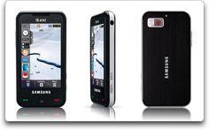 Samsung Eternity a867 Phone, Black (AT
