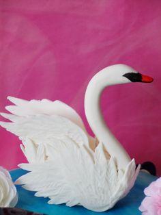 swan figure gumpaste or fohttps://www.facebook.com/BubajSutigyar?ref=hlndant look at my pages: