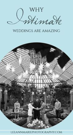 Why small, intimate weddings are amazing