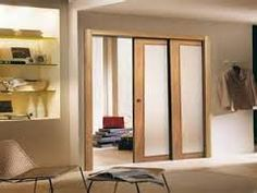 Amazing Double Pocket Doors Going Into Same Wall