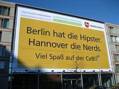 CeBIT: Berlin Hipster Hannover Nerds