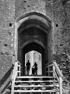West Gate, Caerphilly Castle, Caerphilly, Wales