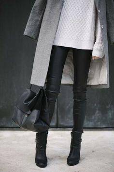 Black leather pants... Mst get some!