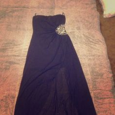 Homecoming or prom dress Black high low worn twice Dresses High Low