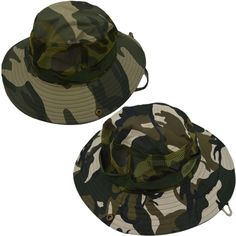 Marine Corp Woodland Camo Camouflage Military Wide Brim Camping Hunting Boonie Hat Mountaineer Men Fishing Jungle Cap