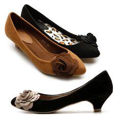 Zapatos tacon bajo