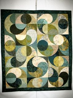 """""""Batiks in Motion.""""  I signed up for a class at my local quilt shop to do this- can't wait!  (But I have to, because it's in October, haha.)"""