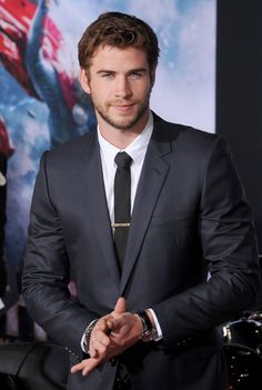 Liam Hemsworth really knows how to smolder.