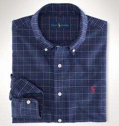 Ralph Lauren offers luxury and designer men's and women's clothing, kids' clothing, and baby clothes. Casual Wear For Men, Casual Shirts For Men, Stylish Hoodies, Flannel Fashion, Mens Fashion Wear, Classy Casual, Formal Shirts, Mens Clothing Styles, Sports Shirts