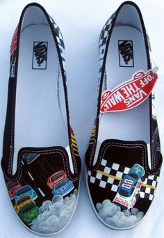 Steve+Van+Doren+(of+Vans+shoes)+commissioned+these+Vans+shoes+for+hisNiece+as+well,+She+is+an+avidDale+Earnhardt+Jr./NASCAR+fan.+These+shoes+were+my+first+NASCAR+inspired+pairnbsp...
