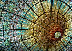 Jacques Gruber. Palacio de la Música Catalana. Barcelona. España