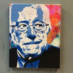 All profits from #BernieSanders and #ElizabethWarren art will be donated to Bernie's campaign  http://ift.tt/1MusMo8